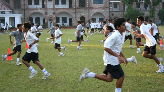 Doon School Students, Dehra Dun, India